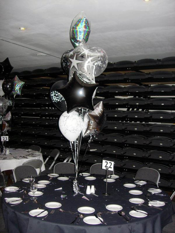 Music event balloons