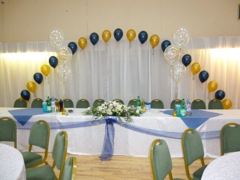 Beautiful table themed balloon design