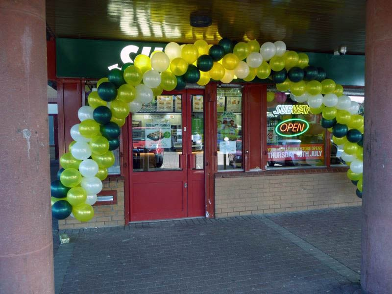 Promoting a new Subway opening in Milton Keynes in their corpora