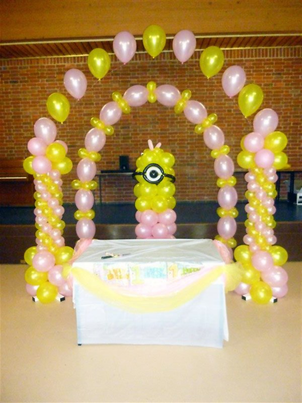 Minion Balloon Arch