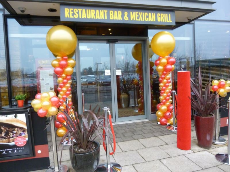 ocal Chiquito's 1st Anniversary of opening was promoted with the