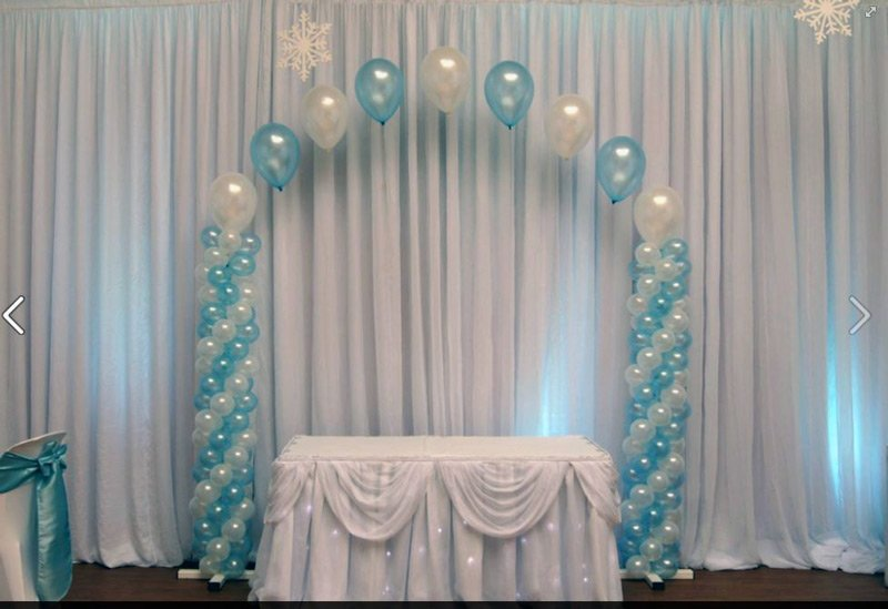 Beautiful display for a babies Christening